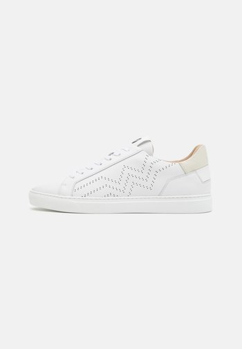 NIZZA - Trainers - white/beige