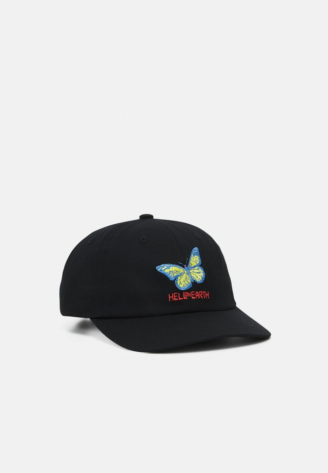HELL ON EARTH PANEL STRAPBACK HAT UNISEX - Keps - black