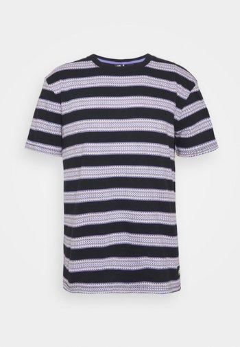FOGI JACQUARD TEE - Print T-shirt - fogi black