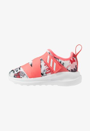 FORTARUN X MINNIE  - Neutral running shoes - footwear white/semi fluo red/coreblack