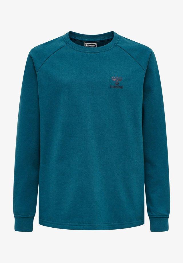 HMLACTION - Sweatshirts - blue