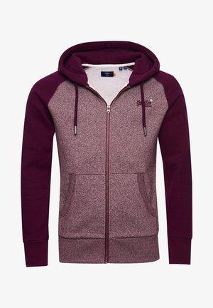 ORANGE LABEL - Zip-up hoodie - academy port