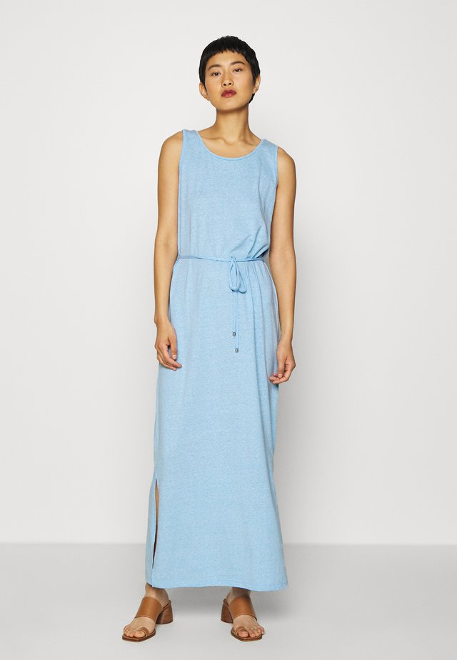 Maxi dress - blue melange optic