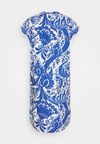 Emily van den Bergh - Kjole - white/blue - 1