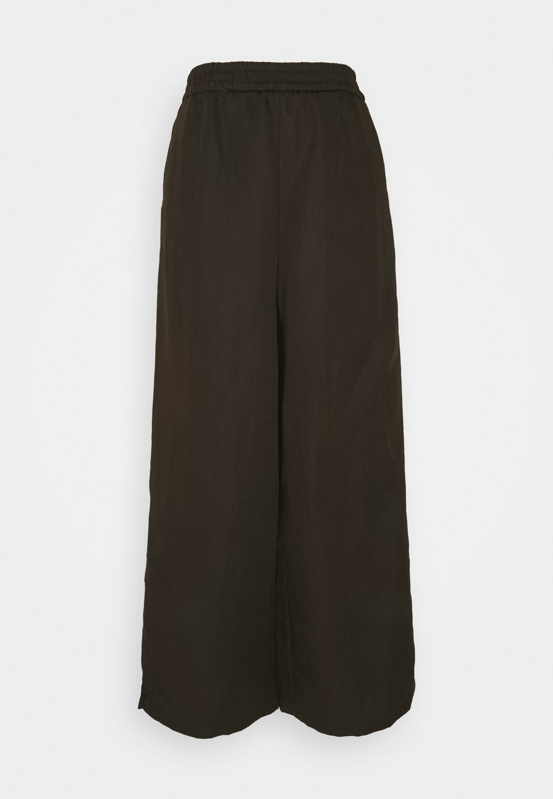 Women WIDE LEG PANTS ELASTIC WAISTBAND - Trousers
