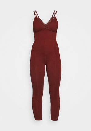 TAKE ME AWAY ONESIE - Turnpak - dark red