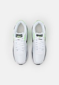 Nike Sportswear - AIR MAX 90 UNISEX - Sneakers laag - white/black/vapor green - 3