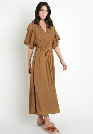 Day dress - marron clair
