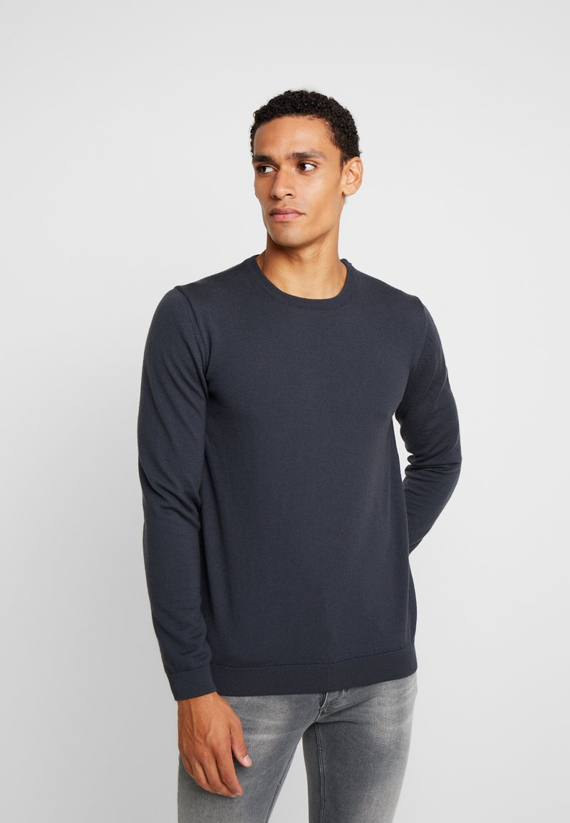 BY GARMENT MAKERS - THE MERINO KNIT ORGANIC - Strickpullover - grey