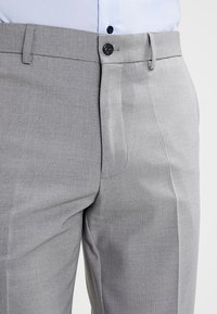 Lindbergh - PLAIN MENS SUIT - Kostym - light grey melange