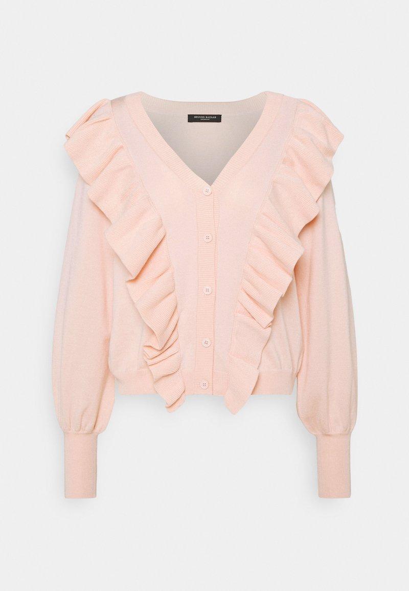 Bruuns Bazaar - ANEMONE MIRELLA  - Cardigan - misty rose