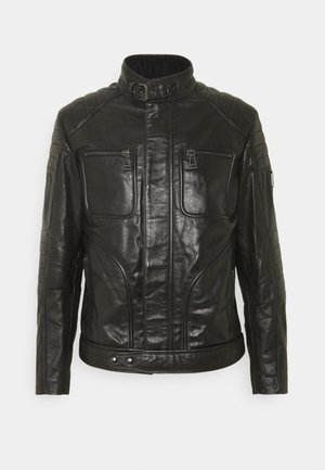 WEYBRIDGE JACKET - Leather jacket - black