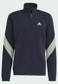 adidas Performance - Cotton TS TRACKSUITS SPORTS TOP:REGULAR-BOTTOM:REGULAR TRACKSUIT - Chándal - blue - 6