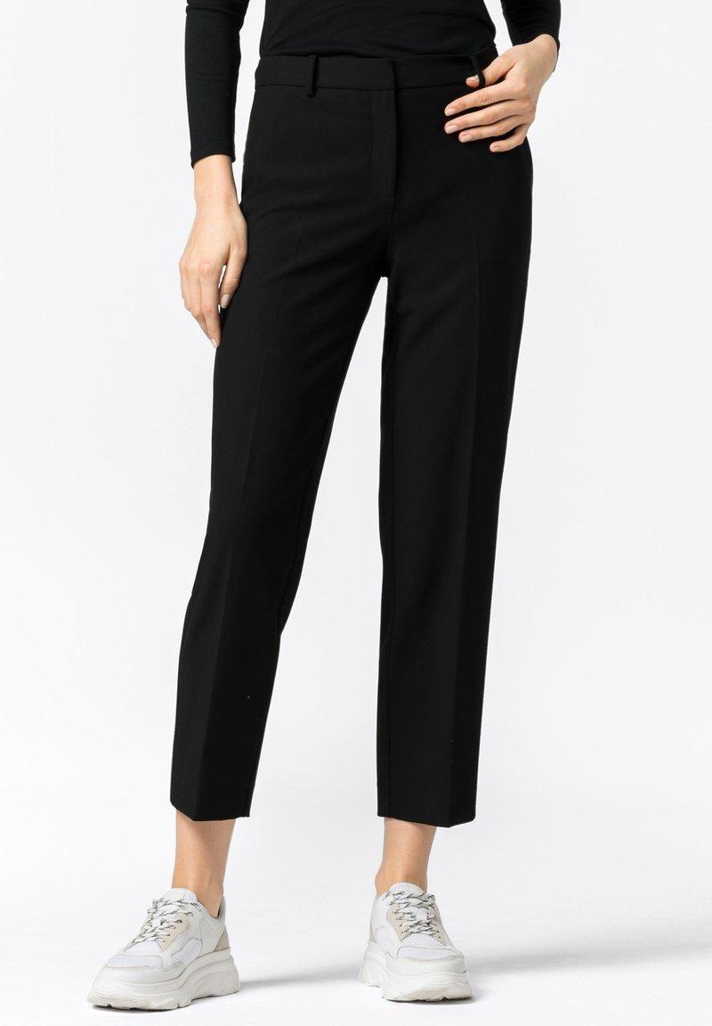 HALLHUBER - Trousers - schwarz