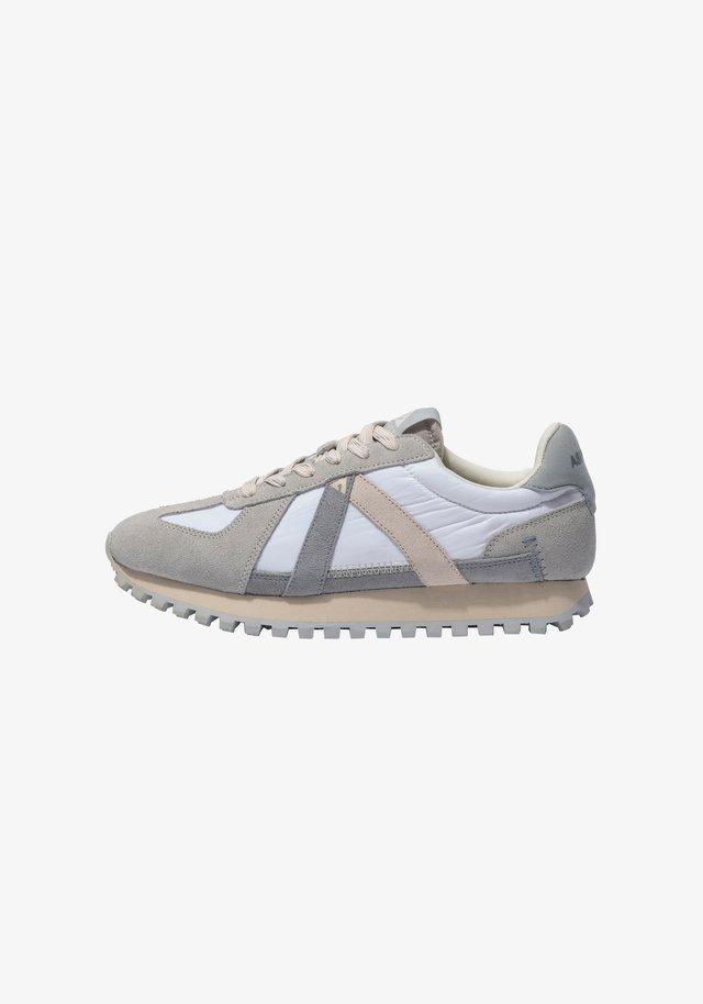 GATE GAT002 - SNEAKER LOW - Sneakers laag - grey blue tan