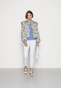 Cras - QUINCRAS JACKET - Light jacket - green/light blue/pink - 1