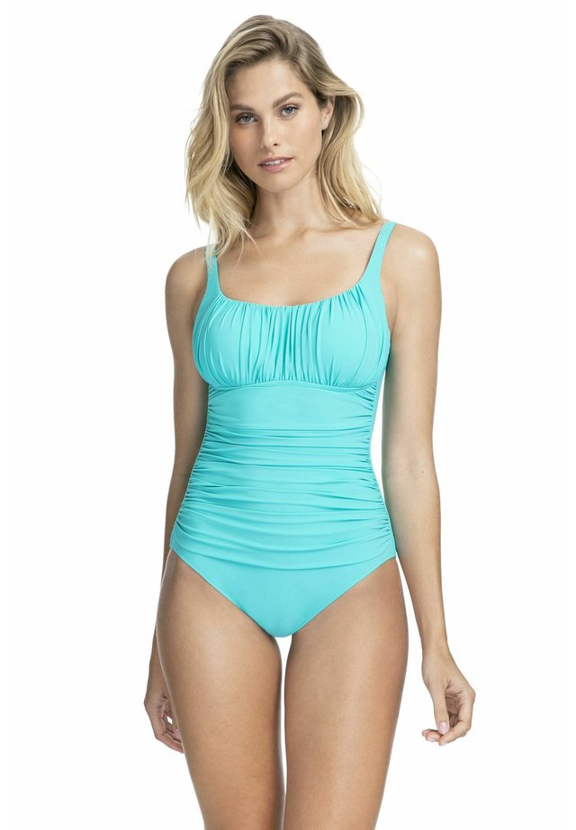 BADEANZUG - Swimsuit - jade