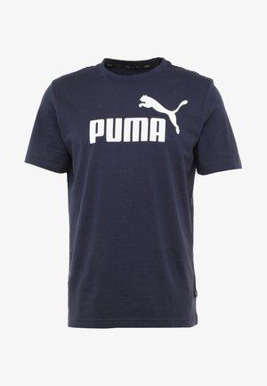 LOGO TEE - Camiseta estampada - peacoat
