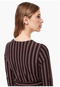 s.Oliver BLACK LABEL - Maxi dress - brown stripes - 5