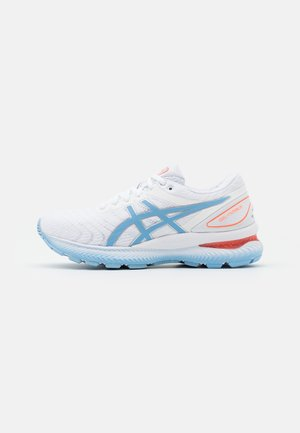 GEL-NIMBUS 22 - Neutral running shoes - white/blue bliss