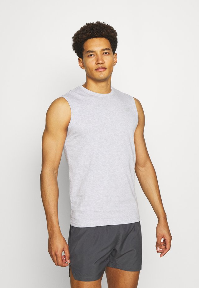 Men's sleeveless top - Toppe - grey