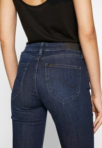 Lee - MARION STRAIGHT - Jeans a sigaretta - dark truxel - 4