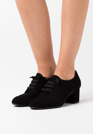 LAOS - Lace-up heels - black