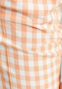 Bershka - Trousers - orange - 5