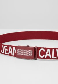 Calvin Klein Jeans - BASIC BELT - Ceinture - red - 2