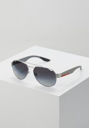 Sluneční brýle - dark grey metal rubber