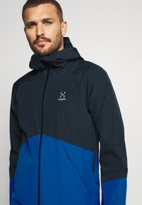Haglöfs - SKUTA JACKET MEN - Hardshell jacket - tarn blue/storm blue - 3