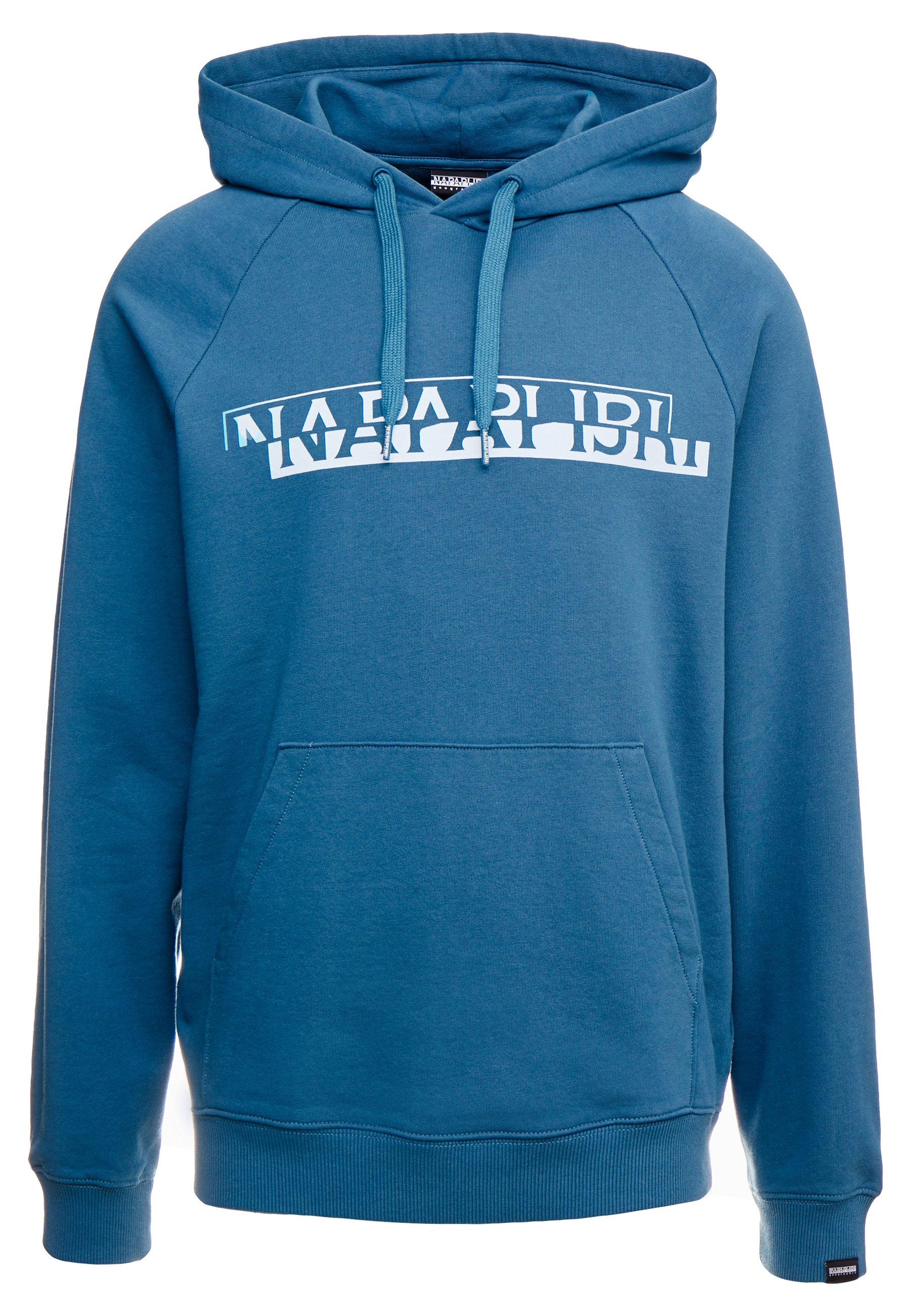 Napapijri The Tribe BIRE  - Sweat à capuche - mallard blue
