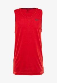 Nike Performance - TANK DRY - Sports shirt - university red/black - 3