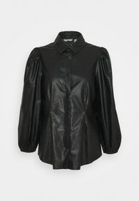 b.young - BYESONI SHIRT - Button-down blouse - black - 4