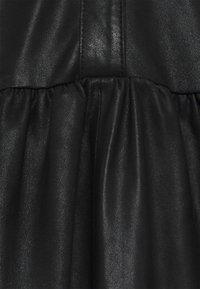 DEPECHE - DRESS - Shirt dress - black - 2