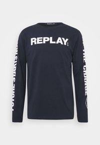 Replay - Long sleeved top - dark blue - 3
