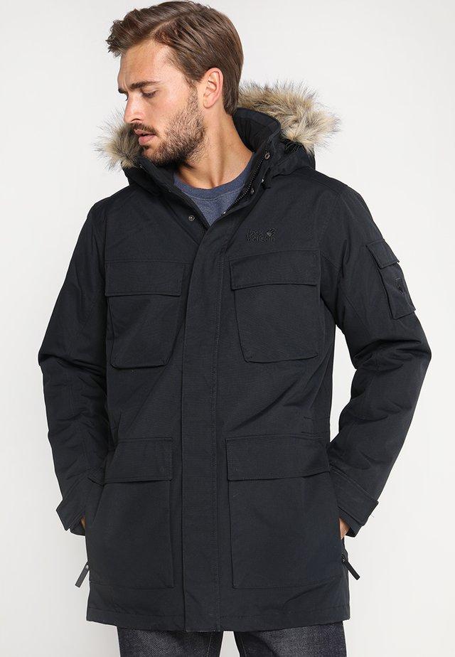 GLACIER CANYON - Winter coat - black