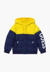 Guess - TODDLER HOODED PADDED JACKET - Winter jacket - bluish - 0