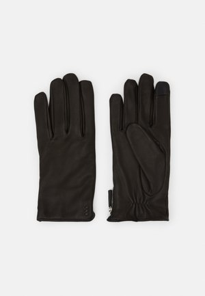 GROUND GLOVES TOUCH - Handschoenen - black