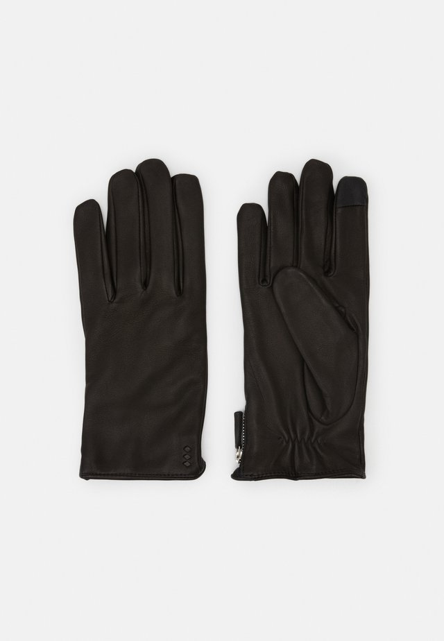 GROUND GLOVES TOUCH - Gloves - black