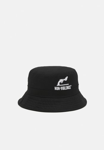 JACNON-VIOLENCE BUCKET HAT - Hatt - black