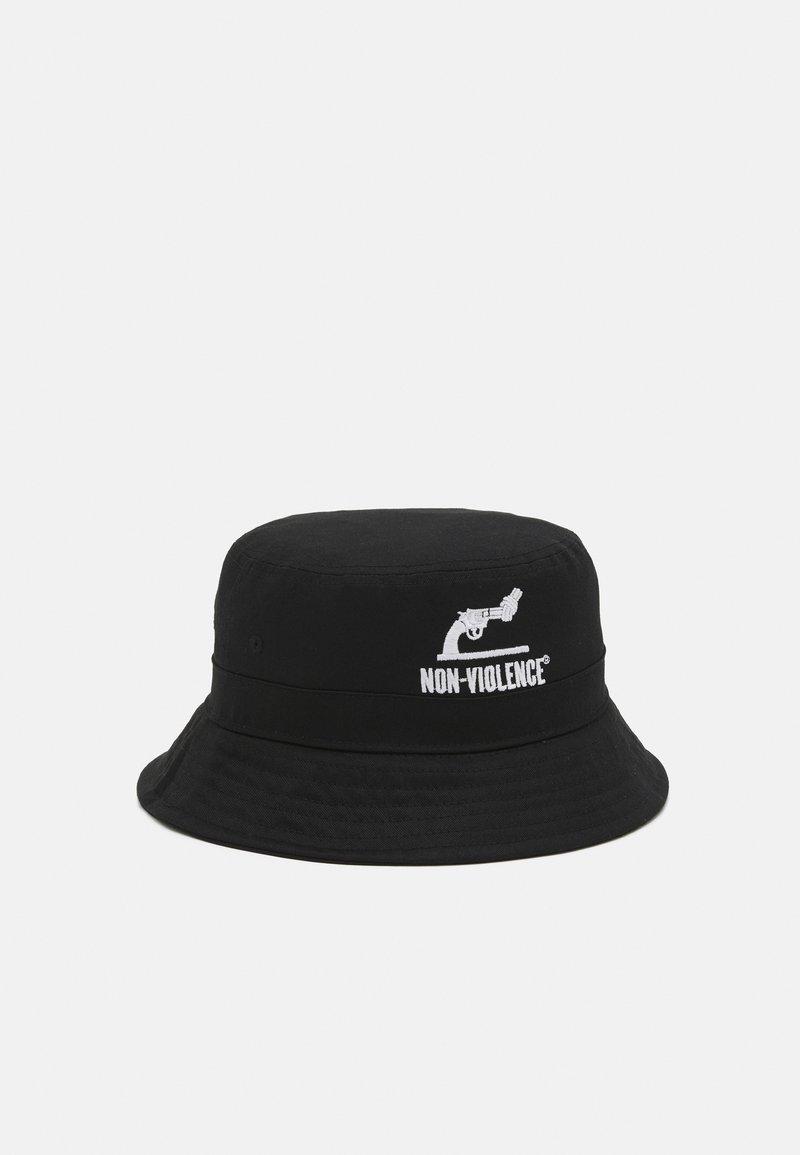 Jack & Jones - JACNON-VIOLENCE BUCKET HAT - Hatt - black