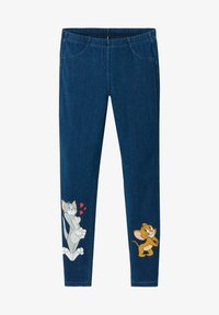 Calzedonia - Leggings - Trousers - wb blu jeans - 0