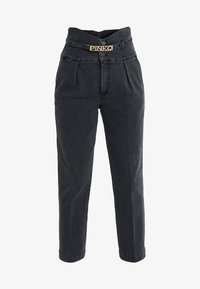 Pinko - ARIEL BUSTIER COMFORT - Slim fit jeans - black - 3