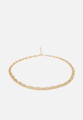 PCZETA CHAIN WAIST BELT - Waist belt - gold-coloured