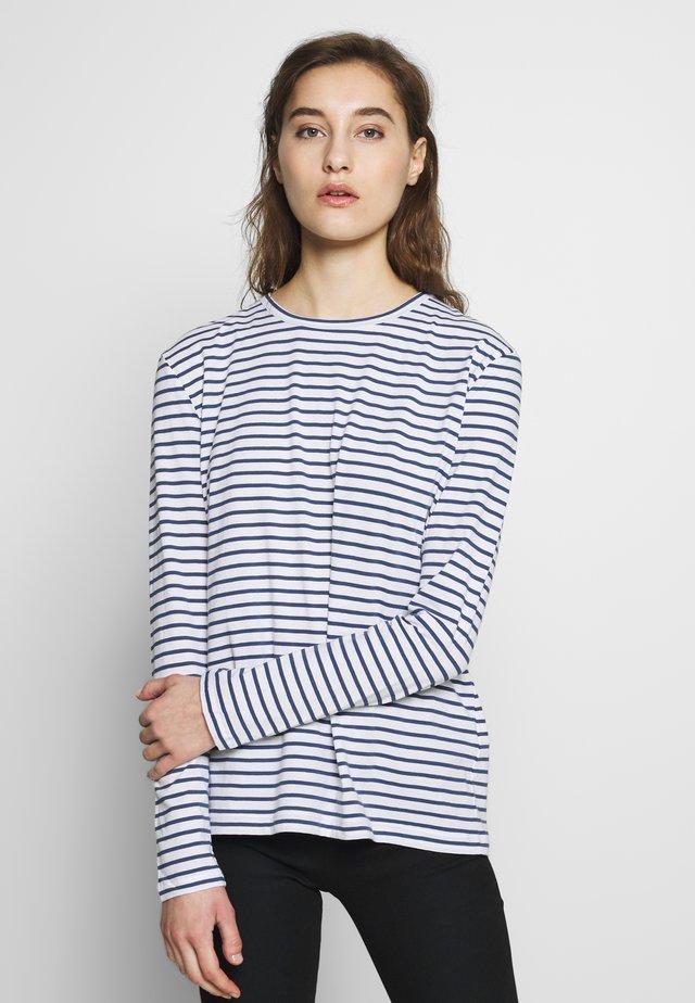 NOBIL - Long sleeved top - blue