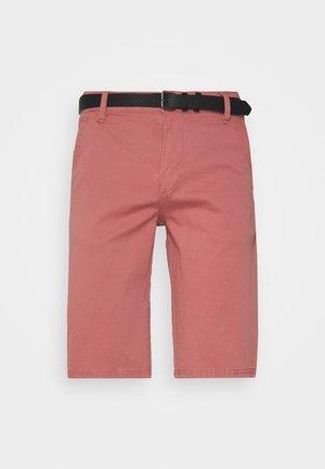 CLASSIC  BELT - Shorts - dusty rose