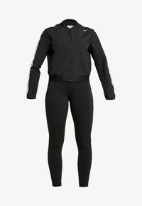 Reebok - ELEMENTS TRAINING TRACKSUIT - Treningsdress - black - 7