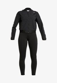 Reebok - ELEMENTS TRAINING TRACKSUIT - Dres - black - 7