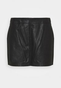 Dorothy Perkins Curve - SKIRT - Mini skirt - black - 4